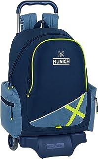 612098313 Mochila Escolar con Carro 905 de Munich Lima, 320x170x430mm