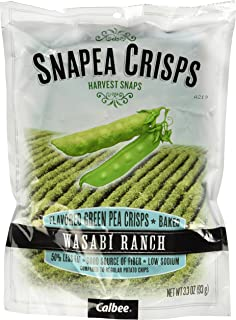 Lil Drug HBW Snapea Crisps Wasabi Ranch, 3.3 Oz