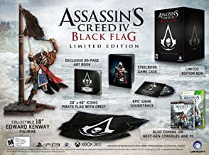 $125 » Assassin's Creed IV Black Flag Limited Edition - Playstation 3