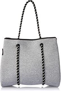 Prene POR-LIG-GRE Tote Bag, Light Grey Marle