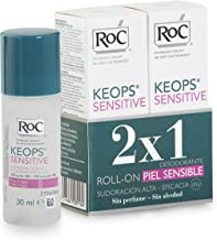 RoC KEOPS Sensitive Deodorant Roll-On 30 ml DUO