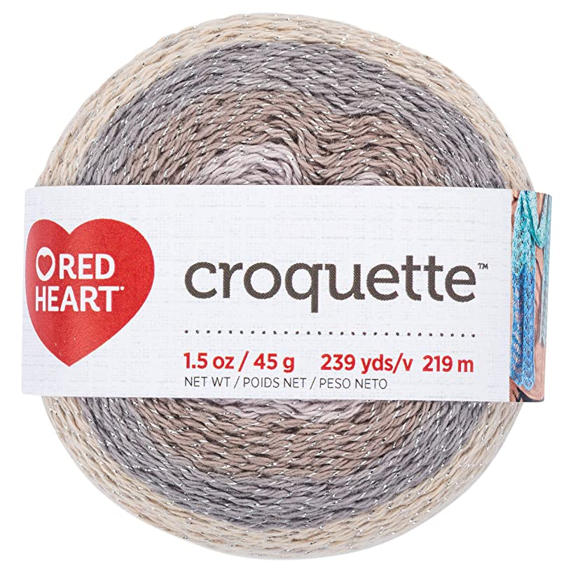 RED HEART E887.9365 Croquette crochet thread Stonehenge