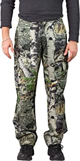 TrailCrest Men's Camo Hunting Cargo Pants   6 Pockets   Mossy Oak Break-Up Country