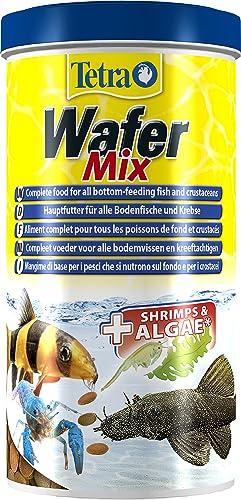 Tetra Wafer Mix Aliment Complet pour Poisson de Fond et Crustacé Multicolore, 1L