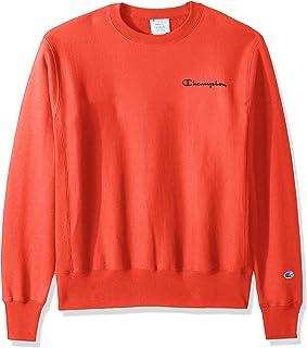قميص رياضي رجالي من Champion LIFE بنسيج عكسي اللون أحمر قرمزي، مقاس X-Large