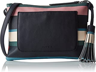 087ea1o030, Women's Shoulder Bag, Blau (Navy), 2x17,5x25 cm (B x H T)