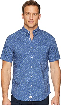 Mini Seagulls Short Sleeve Slim Murray Shirt