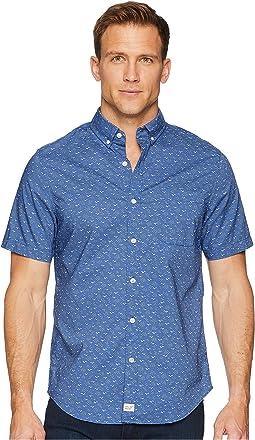 Vineyard Vines Mini Seagulls Short Sleeve Slim Murray Shirt