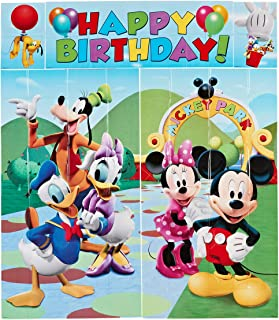 American Greetings Mickey Mouse Scene Setter Wall Decorations 5 Count