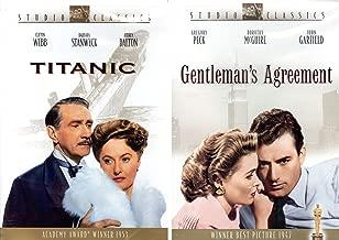 Titanic DVD (1950) Barbara Stanwyck - Clifton Webb & Gentleman's Agreement (1947) DVD / Academy Award Winners 2-pack
