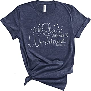 Women`s Christian T-Shirts| Casual Short Sleeve Graphic Tops