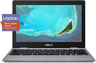 "ASUS Chromebook C223 11.6"" HD Chromebook Laptop, Intel Dual-Core Celeron N3350 Processor (up to 2.4GHz), 4GB RAM, 32GB eMM..."