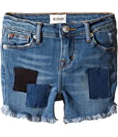 Hudson Kids - Shadow Midi Shorts in Beach Blue (Toddler/Little Kids)