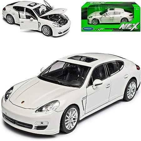 Welly Porsche Panamera S Blau Ab 2009 1 24 Modell Auto Mit Individiuellem Wunschkennzeichen Spielzeug