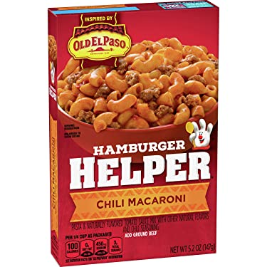 Betty Crocker Hamburger Helper Chili Macaroni 5.2 oz Box (pack of 6)