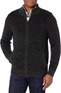 Men's Shetland Full-Zip Cardigan Sweater