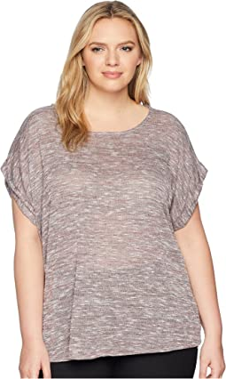 Plus Size Mia Sweater Knit Tee
