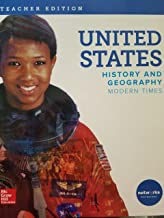 United States; History and Geography, Modern Times, Teacher Edition, 9780076768660, 007676866x