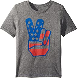 Flag Peace Tee (Toddler/Little Kids/Big Kids)
