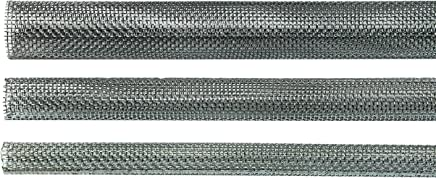 Ankerh/ülsen 1, 12mm f/ür M6 bis M8 Gr/ö/ßenwahl M6 bis M16 Gitterh/ülsen mit feinem Metallgitter 1000mm SN-TEC Siebh/ülsen