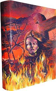 STEPHEN KING NEW COVER SERIES No. 16 FIRESTARTER - 1 / 500 (Artist Signed, Cover only)