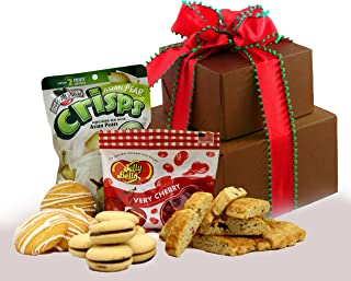 Holiday Delight! Gluten Free Gift Tower, Small - Brown