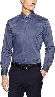 Calvin Klein Men Slim Fit Solid Texture Shirt