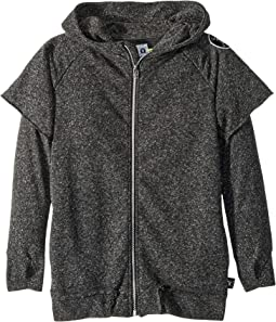 Twofer Zip Hoodie (Little Kids/Big Kids)