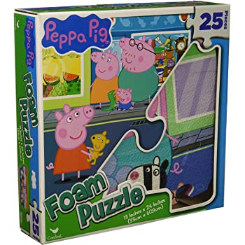Peppa Pig Foam Puzzle - 25 Pieces