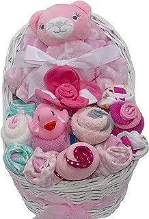 New Baby Bassinet Gift Set (Pink)