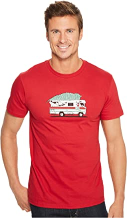 Quiksilver - Santa Camper Tee Shirt