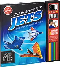 Klutz Straw Shooter Jets: Make Your own Mini air Force