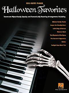 Halloween Favorites Songbook (Big-note Piano)