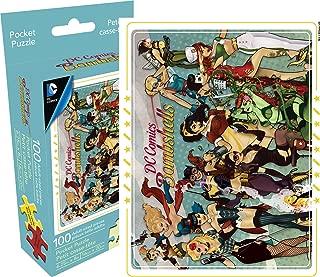 Aquarius DC Comics Bombshells 100 Piece Adult Pocket Jigsaw Puzzle