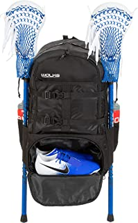 Wolks XXL Premium Lacrosse Bag, Trusted Quality Sports Lacrosse Backpack for Men and Women; Great for Lacrosse, Field Hock...