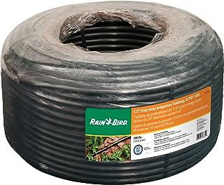 "Rain Bird T70-500S Drip Irrigation 1/2"" (0.700"" OD) Blank Distribution Tubing, 500', Black"