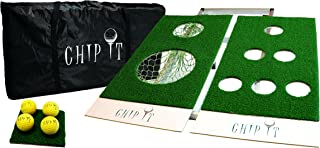 CHIP IT - Golf Game. Includes Beer Pong Golf Game Board and Golf Chipping Game Board.
