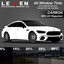 LEXEN 2Ply Carbon All Windows PreCut Tint Kit – Great Heat Reduction