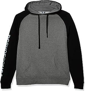 DC Men's Skate Contrast Raglan Pullover Sweatshirt