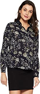 VERO MODA Women's Floral Regular Fit Shirt