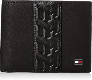Tommy Hilfiger Leather Mini CC Wallet, Black, AM0AM05992
