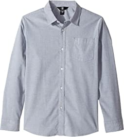 Volcom Kids - Oxford Stretch Long Sleeve (Big Kids)