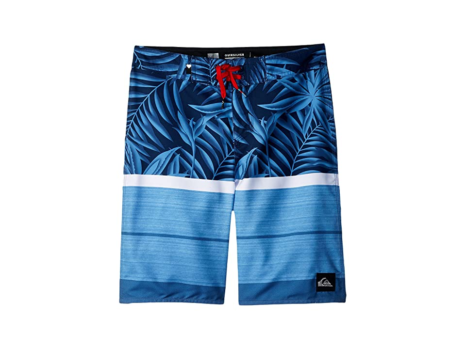 Quiksilver Kids Slab Island 18 Boardshorts (Big Kids) (Medieval Blue) Boy's Swimwear