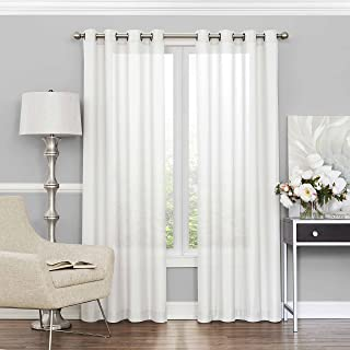 ECLIPSE Sheer Curtains for Bedroom - Liberty 52