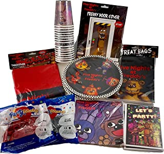 five nights at freddy's birthday party decorations