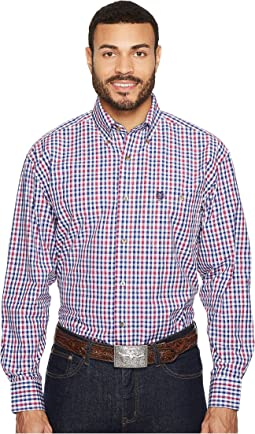 Wrangler - George Strait Long Sleeve Plaid