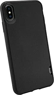 Smartish iPhone Xs Max Slim Case - Kung Fu Grip [Lightweight + Protective] Thin Cover for Apple iPhone 10S Max (Silk) - Black Tie Affair