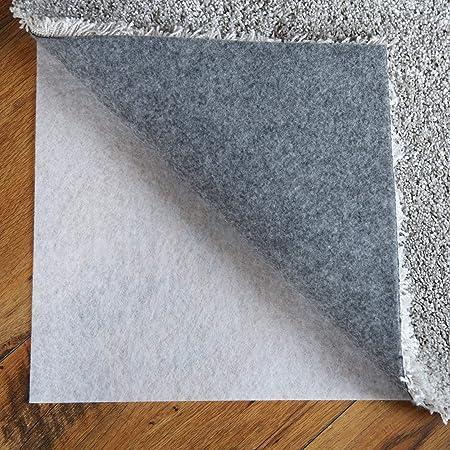 Silikon-Teppichgriff rutschfeste Teppichmatten-Teppichgreifer Wiederverwendbarer waschbarer Mattengriff Rutschfester Teppich-Festaufkleber schwarz Monlladek Rutschfester Teppich-Aufkleber