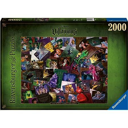 Ravensburger- Puzzle 2000 pièces-Les Méchants (Collection Disney Villainous) All Other Adulte, 4005556165063, pezzi
