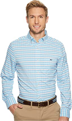 Vineyard Vines - Coco Bay Check Performance Classic Tucker Shirt